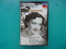 "KATHLEEN FERRIER "" THE WORLD OF KATHLEEN FERRIER ""  CASSETTE"