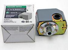Everbilt 40/60 Pressure Switch for Well Pumps Model # EBPS4060