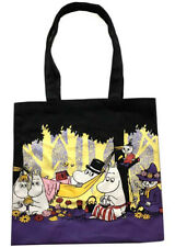 Moomin Family Day Out Canvas Shopping Shoulder Tote Bags Kawaii