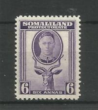 SOMALILAND PRO 1942 G6TH 6a VIOLET SG,110 M/MINT LOT 6300A