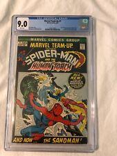 Marvel Team-Up #1 CGC 9.0 1972 First Team Up Spider-Man Human Torch Misty Knight