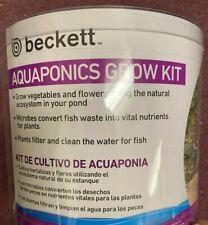 Beckett Aquaponics Growfloat Kit for Ponds New Grow Kit 3 Pack