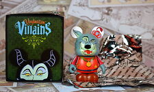 """Disney Vinylmation 3""""  Villains 4 Sheriff of Nottingham Robin Hood Box and Foil"""