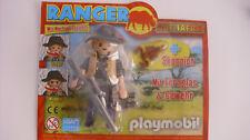 Playmobil Ranger auf  Safari Wechsel-Gesicht, Skorpion, Sonderfigur neu