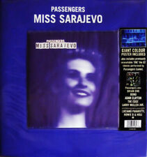 "Passengers ‎– Miss Sarajevo. 7"" With Giant Poster. Mint."