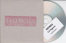 HOWES 3.5 Degrees 2016 UK 8-trk promo CD