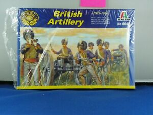 ITALERI 1/72 #6041 BRITISH ARTILLERY 1805/1815  OPEN