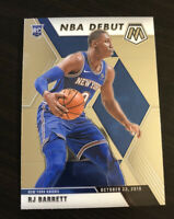 RJ Barrett 2019-20 Panini Mosaic NBA Rookie Debut #270 New York Knicks RC