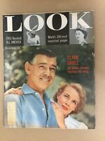 Clark Gable - Movies - 1955 LOOK Magazine - Complete Issue