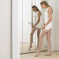 New Sheer Hold-Ups Women Nylon Socks - Reinforced Toe- Lot 6 Pieces- 20 Denier