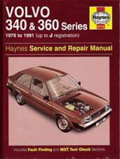 1976 - 1991 Volvo 340 343 345 360 Series Haynes Service Repair Manual Book 2312