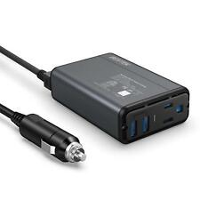 BESTEK 150W/300  Car Power Inverter Laptop Phone Charger DC to AC Adapter 4.2A
