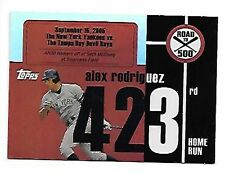 ALEX RODRIGUEZ   2007 TOPPS   ROAD TO 500 #423 SP