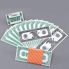 NEW PHONEY MONEY BLING GANGSTER DOLLARS FAKE MONEY PIMP FANCY DRESS