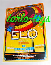 Electric Light Orchestra - Toronto, Canada - 19 july 1978 concert poster
