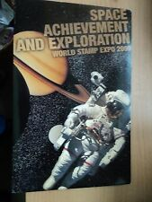 USA 2000 Space Exploration First Day Issue Ceremony Programmes, World Stamp Expo