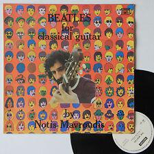 "Vinyle 33T Notis Mavroudis  ""Beatles for classical guitar"""