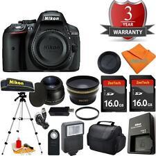 Nikon D5300 Body Bundle + Tripod + 2PCS 16GB + Case + Tele + UV + Remote