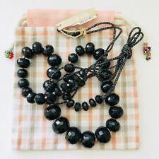 Beaded Adjustable Necklace $190 Chan Luu Onyx