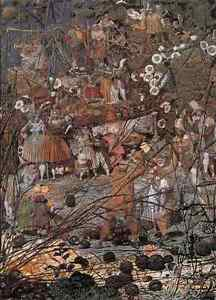 Dadd Richard The Fairy Feller S Master Stroke A4 Print