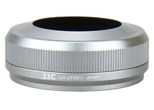 JJC Premium Silver Lens Hood LH-JX100II Replacement for Fuji FinePix X100, X100S