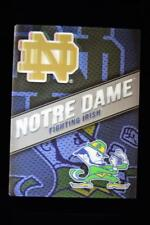 Framed 14x18 Lighted Lenticular 3-D Print Made in USA Notre Dame Fighting Irish