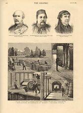 1883 Estampado ~ Vino Crecimiento Australia HUBERT'S Vineyard Victoria ~ Cherif