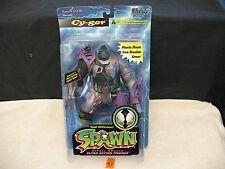 "SPAWN CY-GOR Purple Grey 6"" Ultra Action Figure New 1996 McFarlane Toys"