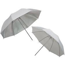 Kit 2x Parapluie Studio Photo Video Diffuseur PRO DynaSun Blanc + Argent 84cm