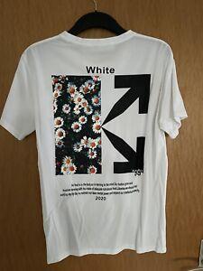 OFF WHITE OW Unisex Casual T-Shirt, Größe M (EU S)
