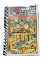 Mr. Pinball Pinball List & Price Guide Flipper Baseball Bingo 2008 Edition