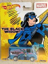 HOT WHEELS MARVEL THE BLACK WIDOW COMBAT MEDIC VAN