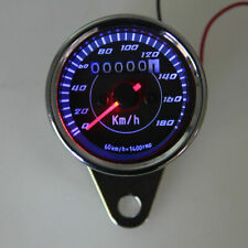 Motorcycle LED Backlight Odometer Speedometer Gauge for Harley Cafe Racer Custom