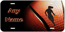 Female Basketball Any Name Personalized Car Auto Tag Novelty License Plate