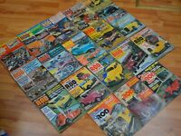 1001 CUSTOM AND ROD IDEAS Lot of 18 Assorted Vintage Magazines 1967 to 1977