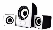 Mini Casse Altoparlanti TeKone KP1000 2.1 Home Theatre System Usb Pc Bianche hsb