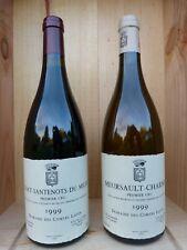 Comtes Lafon - Volnay Santenots du Milieu + Meursault Charmes 1999 - 2 bout.