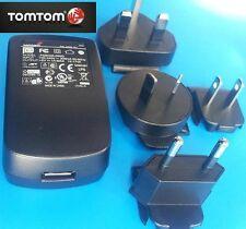 TOMTOM/TOM TOM GO/ONE/XL/XXL/VIA/START/RIDER 220V HOME/WORLD/REISE LADESTECKER