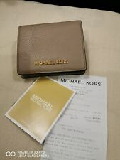 Michael Kors 35H9GTVD2L Jet Set Travel Carryakk Card Case Leather Wallet