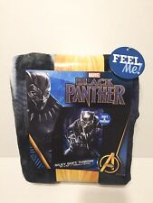 "Marvel Avengers - Black Panther Cuddly Silky Soft Throw Blanket 40"" x 50"" - New"