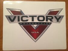 Tin Sign Vintage Victory Motorcycles Usa