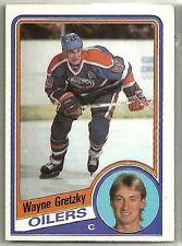 Wayne Gretzky 1984-85 TOPPS Oilers Hockey Card 51