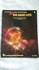 Hal Leonard Easy Organ Adventure Series Big Band Hits #3