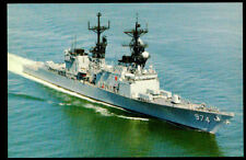USS Comte De Grasse DD-974 postcard US Navy ship destroyer (card3)