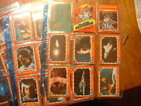 Complete 1979 Buck Rogers 21st Century 88 Trade Card Set with 21 Stickers