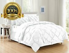 6 Pieces Complete Bed in a Bag Comforter Set, Twin/Twin Xl, White