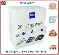 200 Zeiss Wipes Pre Moist Lens Cleans Glassess Individual Sachets Glass Cleaner