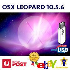 Mac OS X Leopard 10.5.6 USB Install Reinstall Recovery MacBook iMac Mini