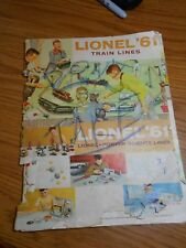 HO TRAIN VINTAGE 1961 LIONEL CATALOG!