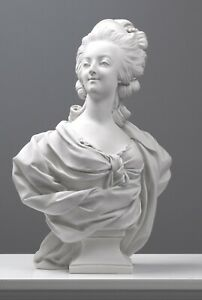 """Marie Antoinette Bust Sculpture - 46.6cm / 18.3"""" - Made in Europe"""